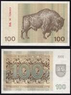 LITAUEN - LITHUANIA - 100 TALONAS 1991 UNC PICK 38b    (25465 - Litouwen