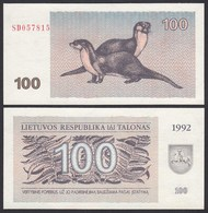 Litauen - Lithunia 100 Talonas Banknote UNC 1992 Pick 42    (25466 - Litouwen
