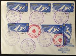 "Spain, Circulated Cover, "" Expo 98 "", 2000 - Colecciones"
