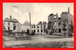 Tintigny. Maisons Incendiées Le 22 Août 1914.  Feldpoststation Nr 91.1915 - Tintigny