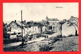 Rossignol (Tintigny). Maisons Incendiées. Eglise St. Nicolas.  Feldpost Der 33.Infanterie Division. 1916 - Tintigny