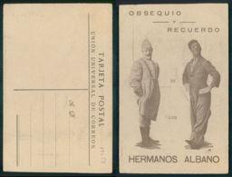 OF [ 19758 ] - ESPAÑA  - OBSEQUIO Y RECUERDO DE LOS HERMANOS ALBANO CIRCUS CIRCO RARO !! - Spain