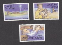 Canada, MNH, érinnophilie, Vignette, Cinderella, 1990, Société Biblique Canadienne, Noël, Christmas - Cinderellas