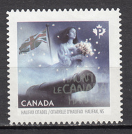 Canada, MNG,  Militaria, Fantôme, Ghost, Canon, Citadelle D'halifax, Mythologie, Mythology, Surnaturel, Drapeau, Flag - Militaria