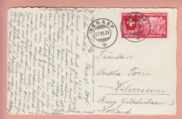 OLD POSTCARD - SWITZERLAND - SCHWEIZ -  SUISSE -   TARASP - GR Grisons