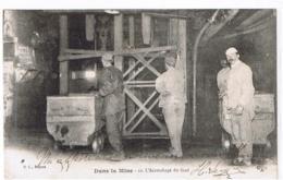 L'Accrochage Du Fond - DANS LA MINE N° 12 - B. L. Déposé --- Mineurs, Wagonnet - Miniere