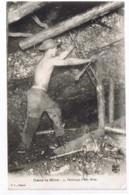 Perforage D'une Mine - DANS LA MINE N° 4 - B. L. Déposé --- Mineur Perforatrice étais - Miniere