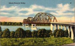 North Dakota Liberty Memorial Bridge Between Bismarck And Mandan - Bismark