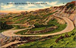 North Dakota Badlands Horseshoe Bend On Highway 85 - Autres