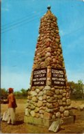 North Dakota Rugby Masonry Monument Geographical Center Of North America 1969 - Autres