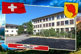 Postcard, REPRODUCTION, Municipalities Of Switzerland, Horw - Landkarten