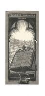 REIMS : EX - LIBRIS CHARLES SARAZIN , 1921 - Ex-libris