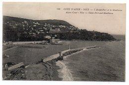 06 - NICE - L'Avant Port Et Le Montboron - 1916 (O75) - Transport Maritime - Port