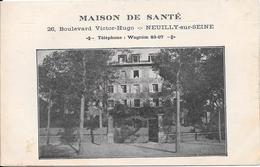 MAISON DE SANTE : 26, Boulevard Victor-Hugo - NEUILLY-sur-SEINE - Téléphone Wagram 83-07 - Neuilly Sur Seine