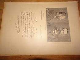 Alphonse Bertillon, Directeur Du Service Anthropométrique De La Préfecture De Police, Document D'un Livre Paru En 1904 - Vieux Papiers