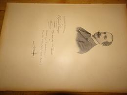 Albert Carré, Directeur Du Théâtre National De L'Opéra Comique à Paris, Document Extrait D'un Livre Paru En 1904 - Vieux Papiers