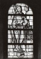 VILLERS-LA-VILLE - Eglise Paroissiale Vitrail De St-Bernard - Pinturas, Vidrieras Y Estatuas