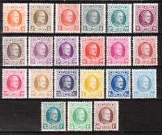 190/210*  Houyoux - Série Complète - MH* - LOOK!!!! - 1922-1927 Houyoux