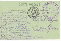 DOUBS CP 1914 BESANCON RESERVE DU PERSONNEL SANITAIRE DU 7° CORPS 7° SECTION D'INFIRMIERS MILITAIRES - 1877-1920: Periodo Semi Moderno