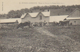 """88 - 1915 - Bussang St Maurice  """" Ferme Et Chaume Rouge Gazon  """" - Bussang"""