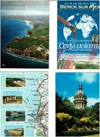 62 / PAS DE CALAIS / Lot De 90 Cartes Postales Modernes Neuves - 5 - 99 Karten
