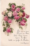 Roses  Illustrateur Inconnu - Blumen