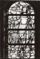VILLERS-LA-VILLE -  Vitrail De Ste Alice En Souvenir D'Alice Glibert Douairière D'Aug. Dumont De Chassart - Pinturas, Vidrieras Y Estatuas