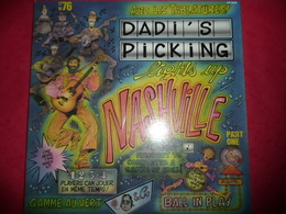 LP N°1633 - DADI'S PICKING - LIGHTS UP NASHVILLE - COMPILATION 9 TITRES COUNTRY WORLD FOLK BLUES + BOOK DES PARTITIONS - Country En Folk