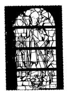 VILLERS-LA-VILLE -  Vitrail De St Augustin En Souvenir D'Auguste Dumont De Chassart - Pinturas, Vidrieras Y Estatuas