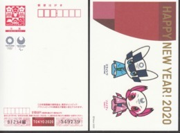 Japan 2019, Postal Stationery, New Year Greeting, Tokyo 2020 Olympic, One Card, MNH** - Estate 2020 : Tokio