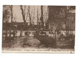 02 VILLERS COTTERETS -- Forêt - Equipage Menier - Bat-l'eau à Gondreville -chasse A Courre - Villers Cotterets