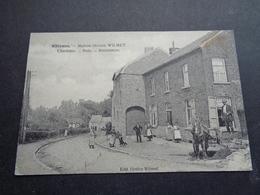 Belgique  België  ( 2220 )   Rhisnes   Maison Octave Wilmet  - Charbons  Bois   Assurances - La Bruyère