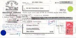 Fiscaux Reims 1964 - Fiscaux