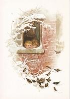 Harriet M Bennet Lot De 7 Cartes Canetons Lettre De Grand Maman La Becquée Le Petit Frère L'averse L'intrus Le Faon Au B - Ante 1900