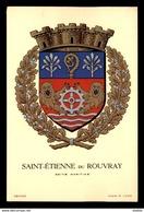 76 - ST-ETIENNE-DU-ROUVRAY - BLASON PAR R. LOUIS - Saint Etienne Du Rouvray