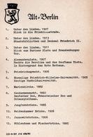 11 Grandes Reproductions De Photos Originales Anciennes Allemagne - Série Ult = Berlin De 1860 à 1913 - Manque La N° 11 - Reproductions
