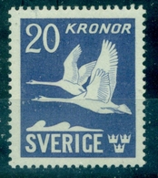 SUEDE PA N° 7 Nx Légère OISEAUX  TB Cote : 100 € - Unused Stamps