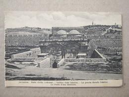 Israel / Jerusalem - Golden Gate Interior - Israel