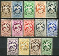 A.E.F ( POSTE ) : Y&T N°  141/154  TIMBRESTRES  TRES  BIEN  OBLITERES , A  VOIR . - A.E.F. (1936-1958)