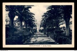 ALGERIE - GUYOTVILLE - LE JARDIN PUBLIC - Other Cities