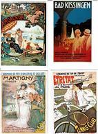 REPRODUCTIONS AFFICHES / Lot De 45 Cartes Postales Modernes Neuves - 5 - 99 Karten