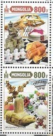 MONGOLIA, 2019, MNH , CHILDREN, GAMES, CHILDREN'S PUZZLES, TURTLES, INTERNATIONAL INTELLECTUAL MUSEUM, 2v - Childhood & Youth