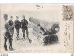ARCACHON - MOULLEAU - Le Vieux Canon Du Moulleau - Très Bon état - Arcachon