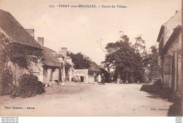 PARAY SOUS BRIAILLES - Entrée Du Village - Très Bon état - France