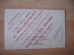 Cpa 59 Roubaix Cavalcade 1903 Groupe Pecheurs Carte Publicitaire Bauchart Photographie Edi Carte Postale - Roubaix