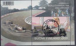 +Finland 1999. Häkkinen. Formel 1. Bloc. Cancelled - Blocks & Sheetlets