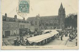 Meung-sur-Loire-Place Du Martroi - Francia