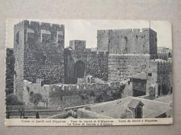 Israel / Jerusalem - Tour De David Et D'Hippicus , Tower Of David And Hippicus - Israel