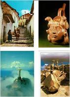 AMERIQUE SUD. / Lot De 73 Cartes Postales Modernes Neuves - 5 - 99 Karten