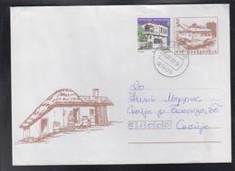 RC VELES, POST OFFICE 1, REGULAR CANCEL - VELES 1400 F (1971-2000) / STAMP MICHEL 116 II ** - Macedonië